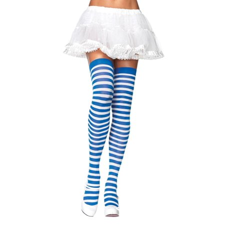 Striped Thi Hi Adult Halloween Accessory, One Size (4-14) - Hi Halloween