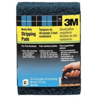 3M 10111NA Heavy Duty Stripping Pad,CRS,Two-pa,PK8