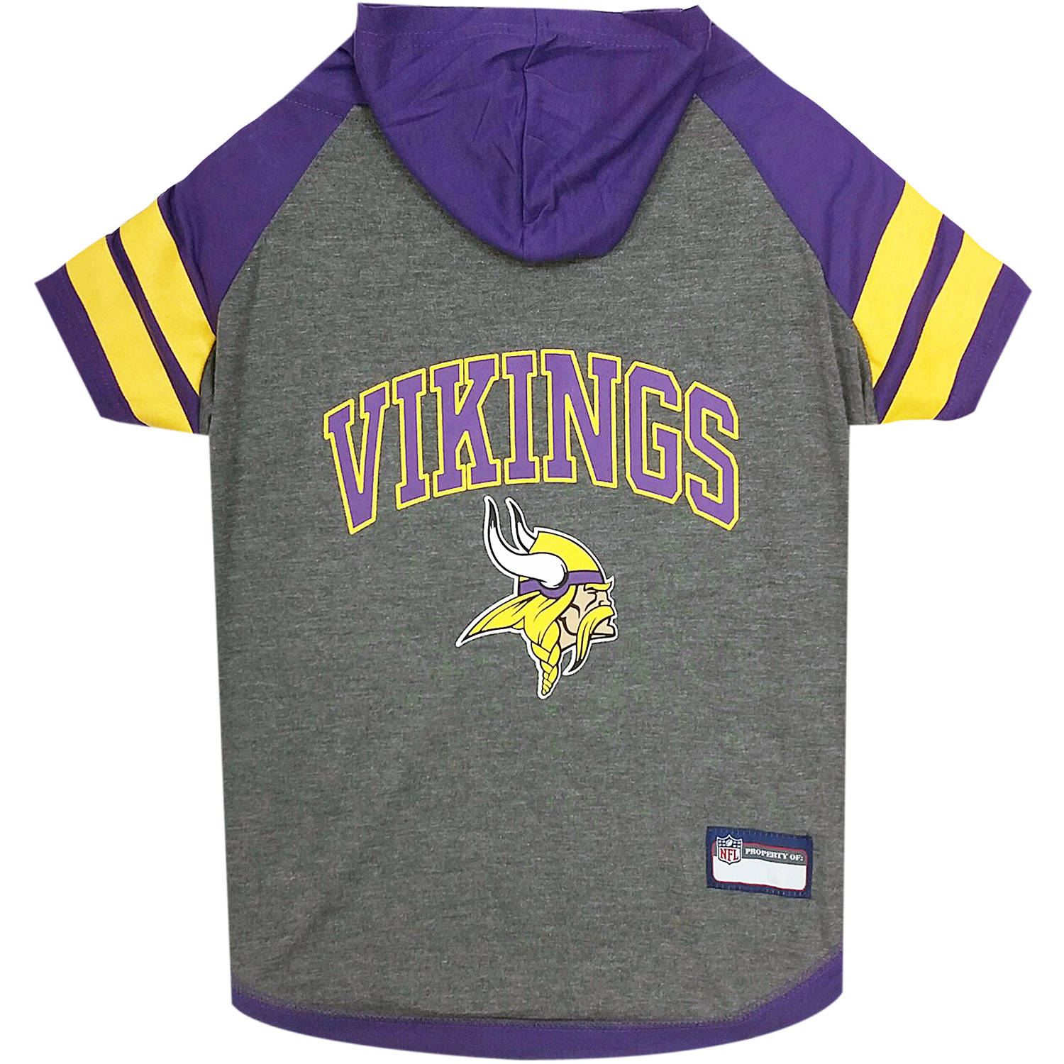 Pets First NFL Minnesota Vikings Pet Hoodie Tee Shirt