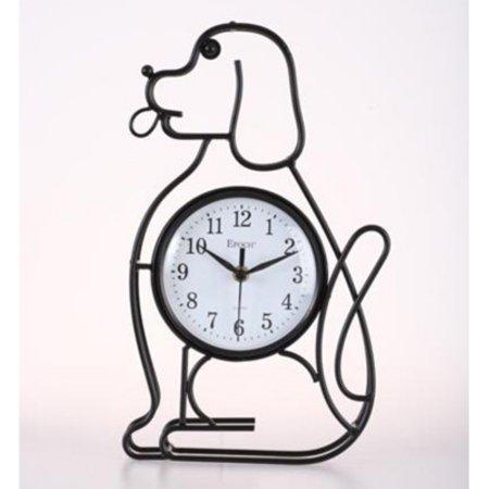 Maples Sales Dog Silhouette Table / Wall Clock