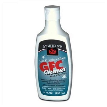 Gas & Wood stove Fireplace Glass Cleaner Gfc 8 FL Oz Bottle Soot & Film Remover