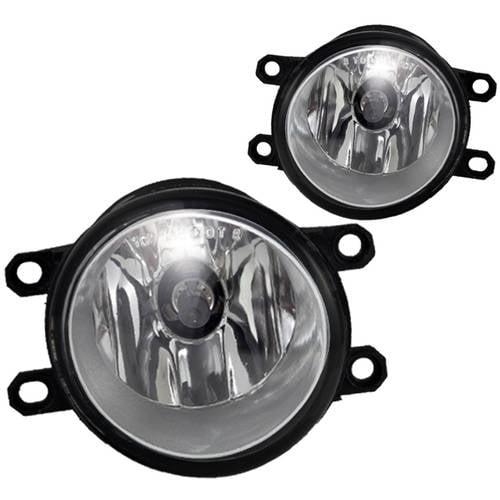 Fog Light For 08-15 Scion xB Clear Lens, Pair