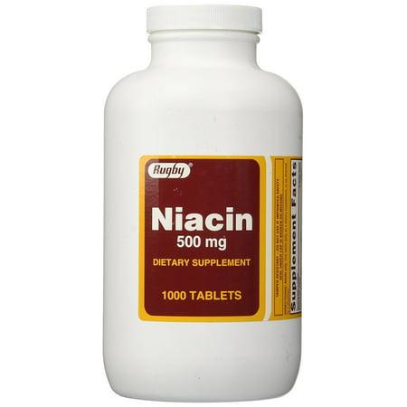 Leaf 1000 Mg 500 Tabs - Niacin 500 mg 1000 Tabs