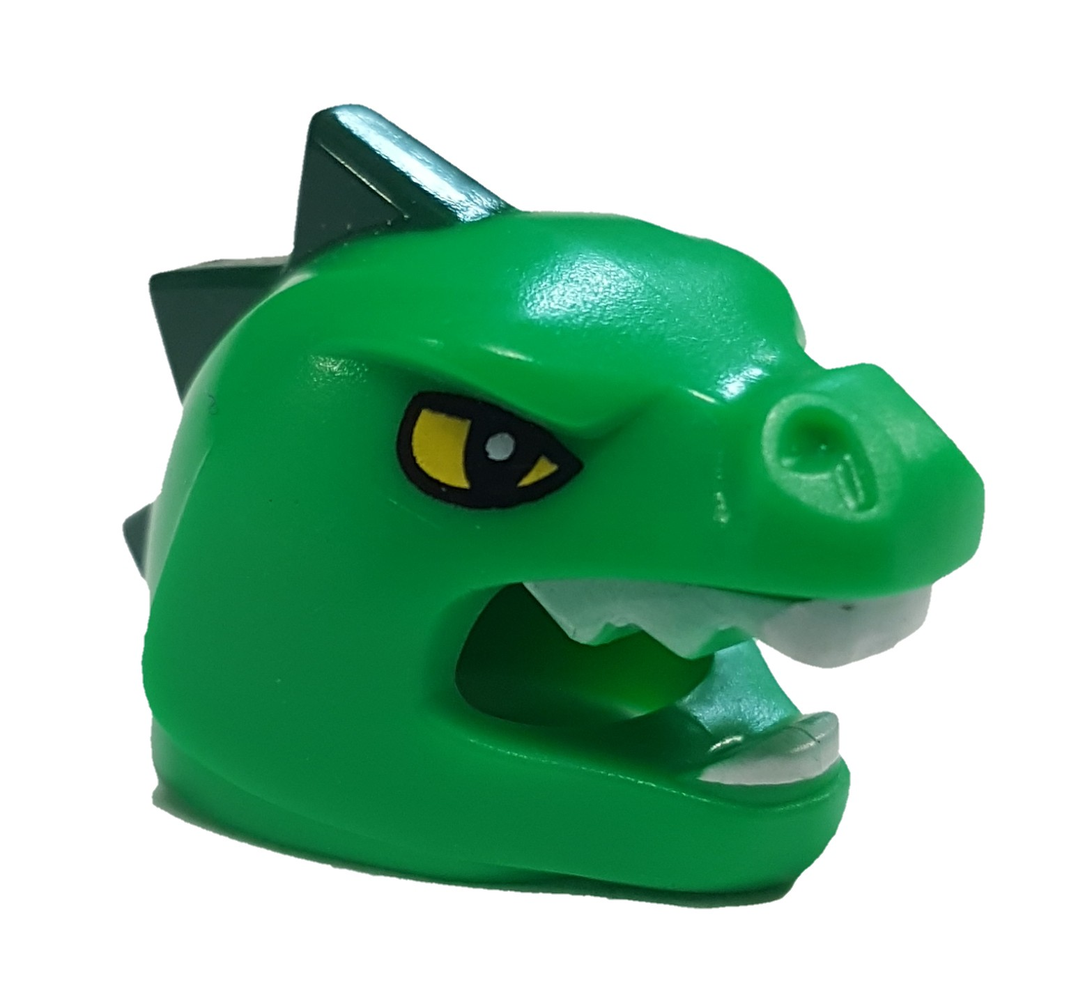 LEGO Green Lizard Mask with Yellow Eyes Loose Accessory