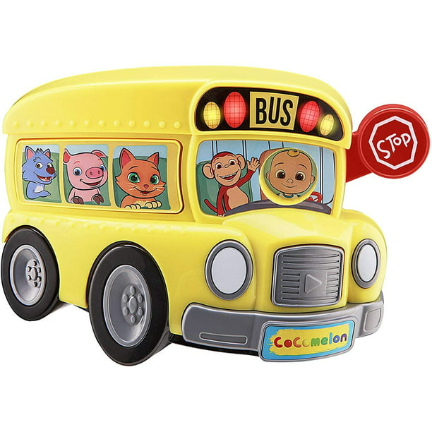 Cocomelon Bus for Kids with Built-in Cocomelon Songs and Sound Effects, Fun Musical Toy for Fans of Cocomelon Merchandise and Cocomelon Toys for Toddlers - Walmart.com - Walmart.com
