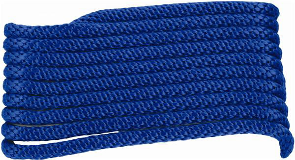 "Attwood 3 8"" x 20' Braided MFP Dock Line with Snubber, Blue by Attwood Corporation"