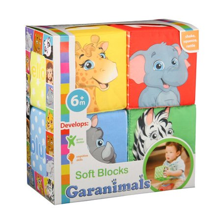 Garanimals 4pk Soft Blocks