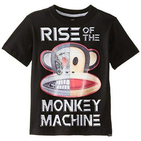 Paul Frank Little Boy's Kids Julius Monkey Machine Short Sleeve Tee