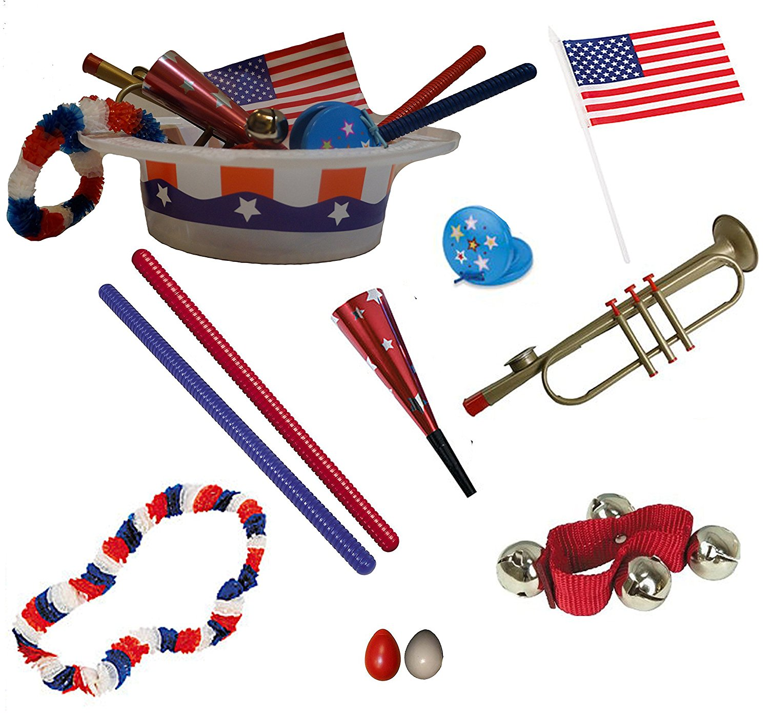 4th of July Parade Pack for Kids - Music & Fun Pack A1