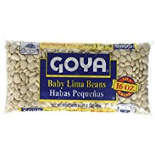 Goya Baby Lima/Habas Pequenas 16 Oz. Pack Of 3.