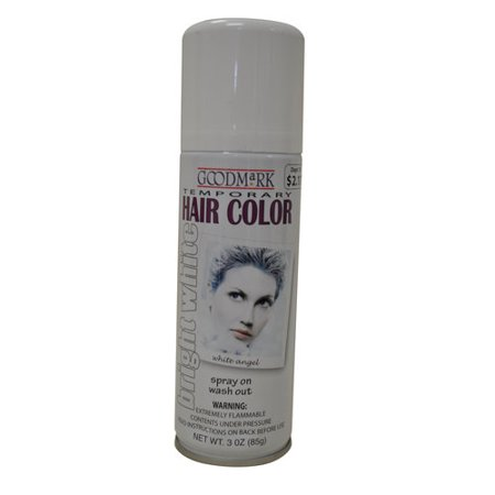Goodmark Temporary Hair Color Spray, White - Best Halloween Hair Color Spray