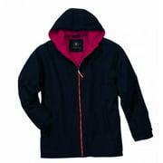 Charles River Apparel Enterprise Jacket, Black/Red, Medium