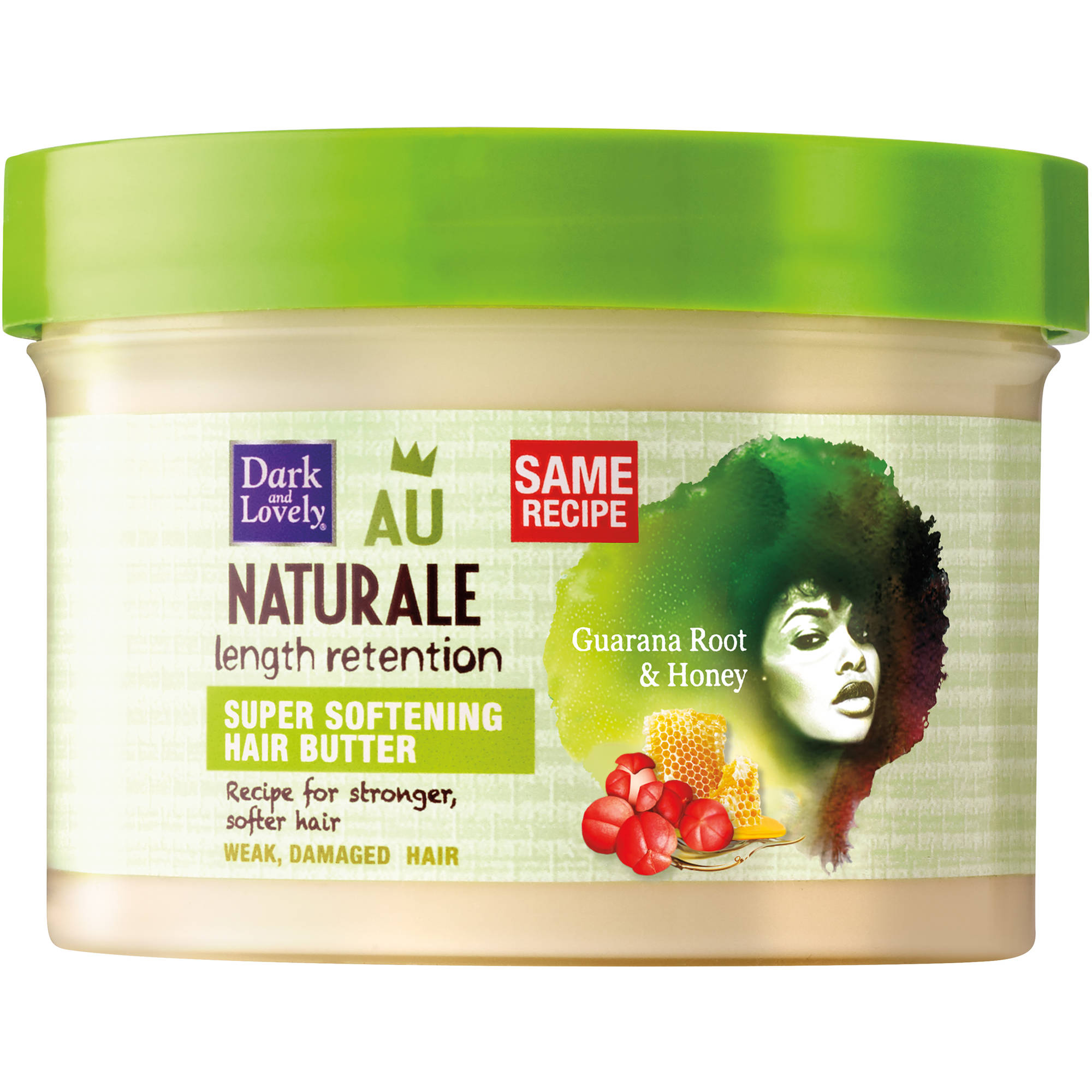 Dark and Lovely Au Naturale Super Softening Hair Butter, 8 oz