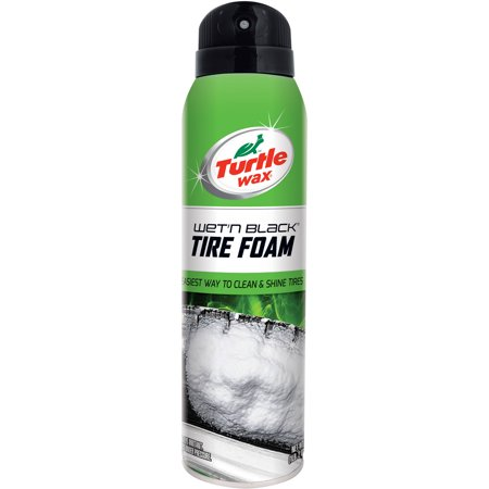 Turtle Wax Wet'n Black Tire Foam 18 oz. Spray