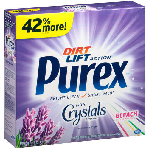 Purex Dirt Lift Action Lavender Blossom Bleach Alternative Powder, 50 oz