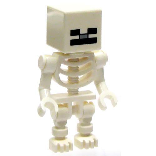 Lego Minecraft Minifigure Skeleton by