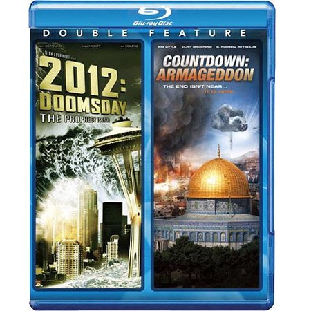 2012  Doomsday   Countdown  Armageddon  Blu Ray