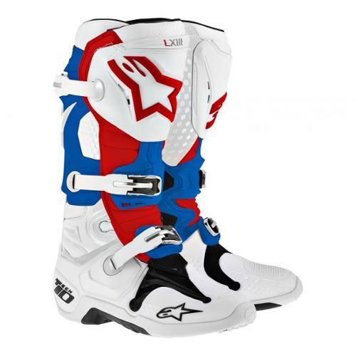 Alpinestars Tech 10 MX Offroad Boots Patriot 12