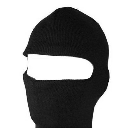 New One Hole Face Ski Mask - Black](Joker Ski Mask)