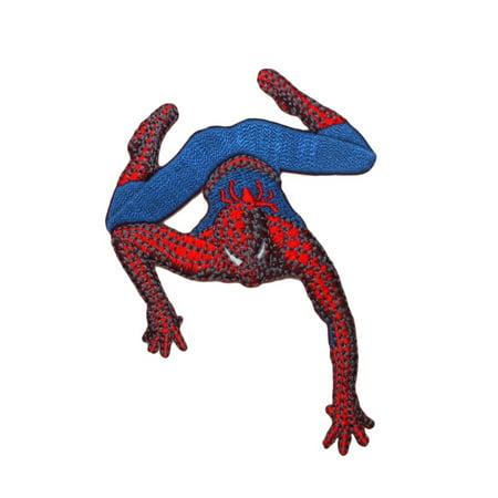 Amazing Spider Man Appliques - Spider-Man Wall Climb Patch Marvel Comics Avenger Superhero Fan Iron-On Applique