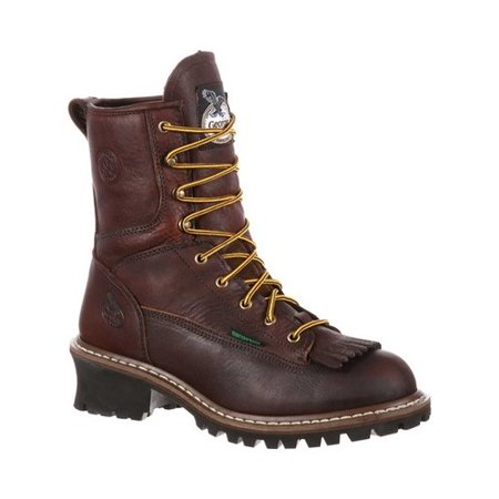 Men's Georgia Boot GB00188 Logger Waterproof Insulated Work Boot