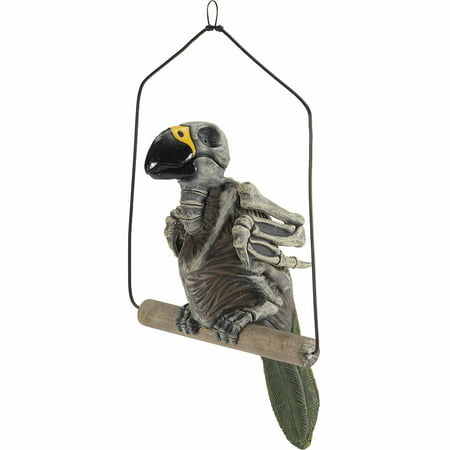 Haunted Parrot Halloween Decoration - Haunted History Halloween