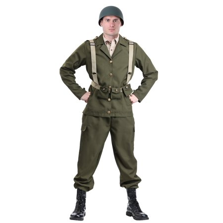 Deluxe WW2 Soldier Costume for $<!---->