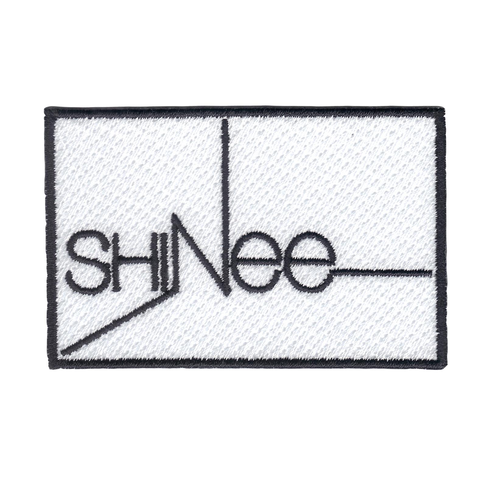 K-Pop Group Shinee Logo Iron On Patch