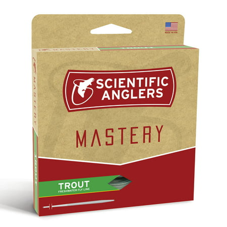 Scientific Anglers Mastery Trout Taper Weight Forward Floating Fly Line -Dry - Scientific Anglers Spey Tips