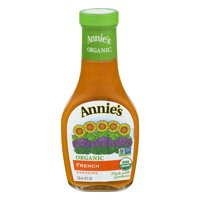 (18 Pack) Annie's Organic Vegan French Dressing, 8 fl oz Bottle