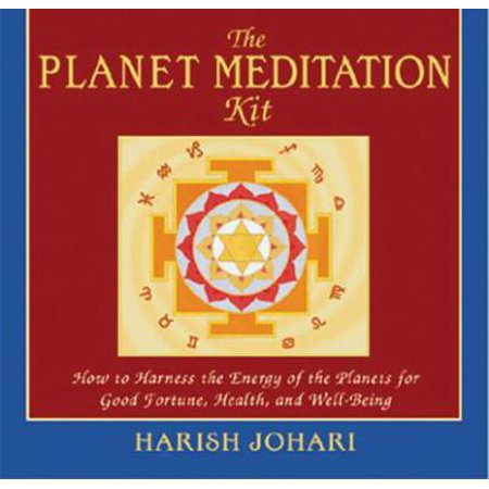 The Planet Meditation Kit  How To Harness The Energy Of The Planets For Good Fortune  Health  And Well Being  With Guide And Contains 9 Full Color Yan