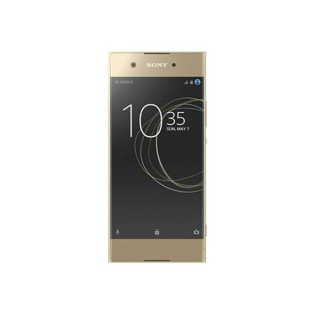 Sony Xperia XA1 G3123 32GB Unlocked GSM LTE Octa-Core Phone w/ 23MP Camera - Gold Sony Ericsson Unlocked Cell Phones