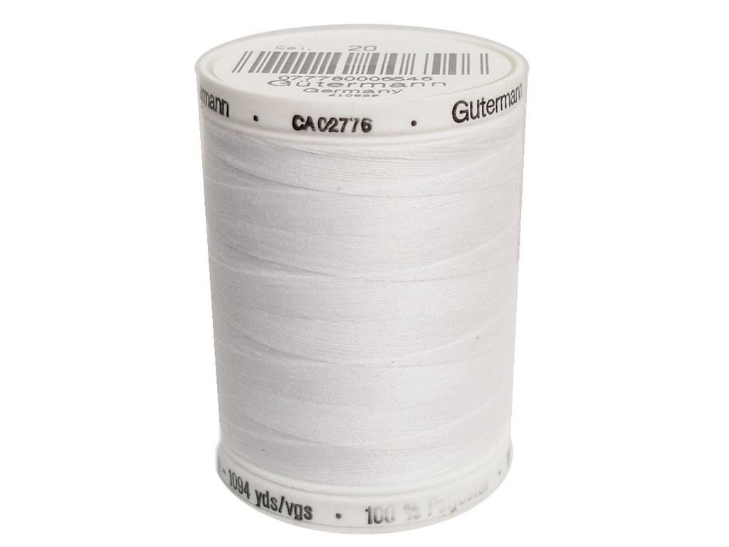 Gutermann Sew-All Thread, 1094yd Color - 20 Nu White