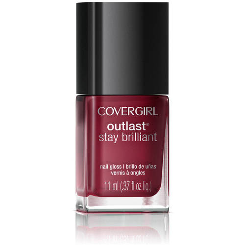 COVERGIRL Outlast Stay Brilliant Nail Gloss Wine to Five 190, .37 oz