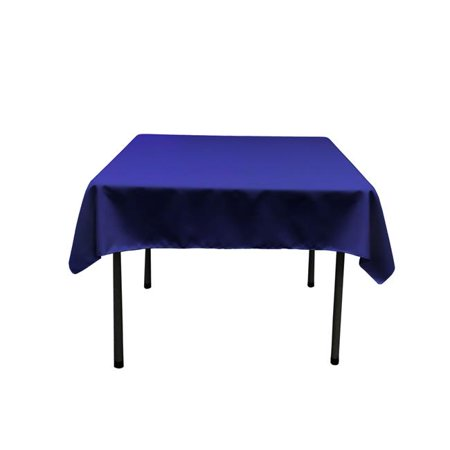 - TCpop52x52-RoyalP50 Polyester Poplin Square Tablecloth, Royal - 52 x 52 in.