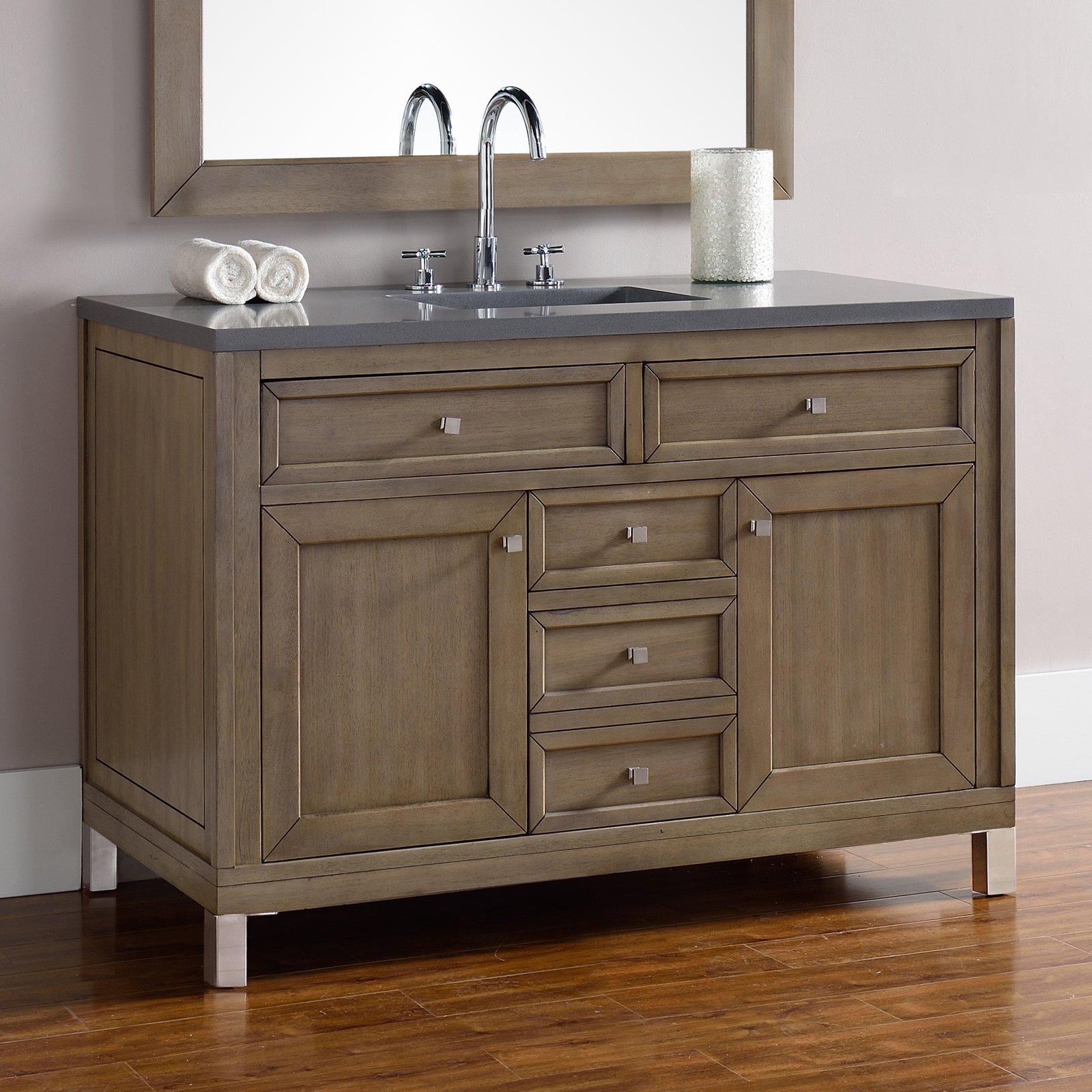 James Martin Chicago 48 In Single Bathroom Vanity Walmart Com