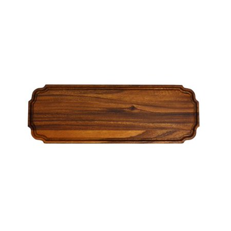 222 Fifth Scranton Long Rectangle Wood Cheese & Charcuterie (Gold Natural Wood Cheese Board)
