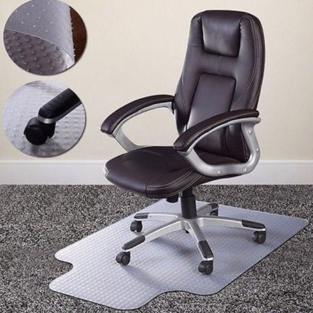 Zimtown Home Office Chair Mat for Carpet Floor Protection Under Executive Computer