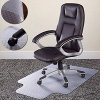 Product Image Zimtown Home Office Chair Mat For Carpet Floor Protection Under Executive Computer Desk
