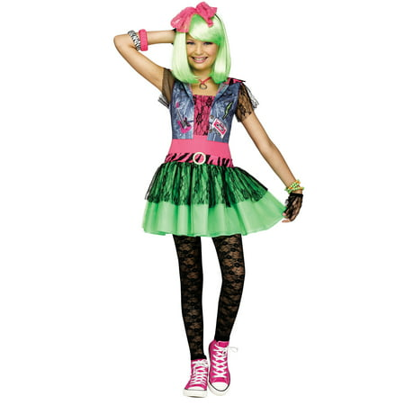 Rockin 80'S Costume for Kids (80's Costumes For Kids Girls)