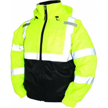 Bomber Ii High Visibility Waterproof Jacket 4 Extra Large Lime Green J26112.4X - image 1 de 1