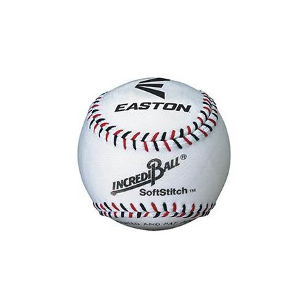Softstitch Incrediball Soft Baseball, White, 9-Inch, Durable ball, Great for players of all caliber By Easton](Baseballs For Sale In Bulk)