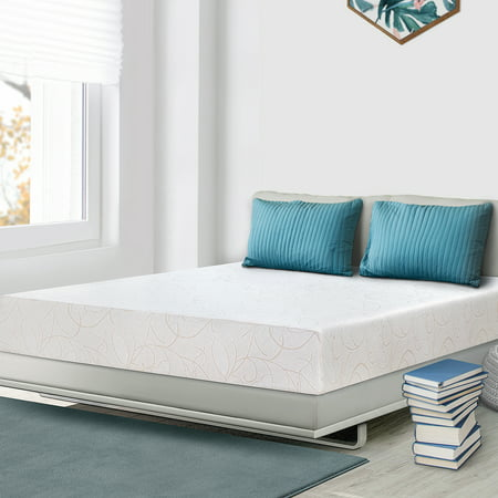 "GranRest 7"" Memory Foam Mattress, Medium Firm, Twin"