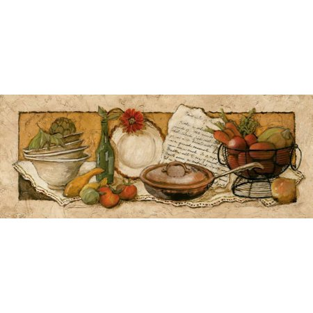 Passion for Cooking II Art Print By Charlene Winter Olson - (Olson Charlene Winter Maison Bath)