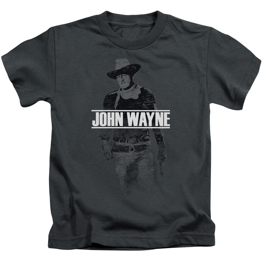 John Wayne Fade Off Little Boys Shirt