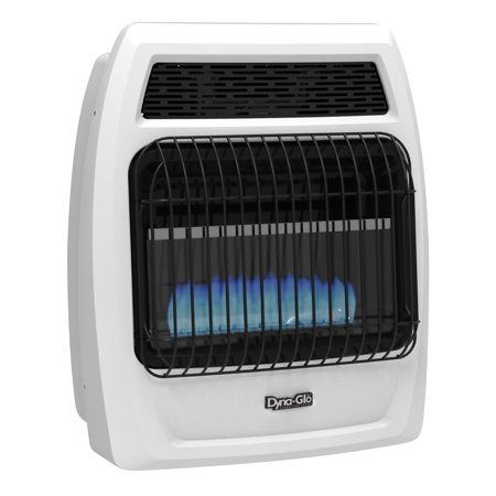 Dyna Glo Bfss20ngt 2N 20 000 Btu Natural Gas Blue Flame Vent Free Thermostatic Wall Heater