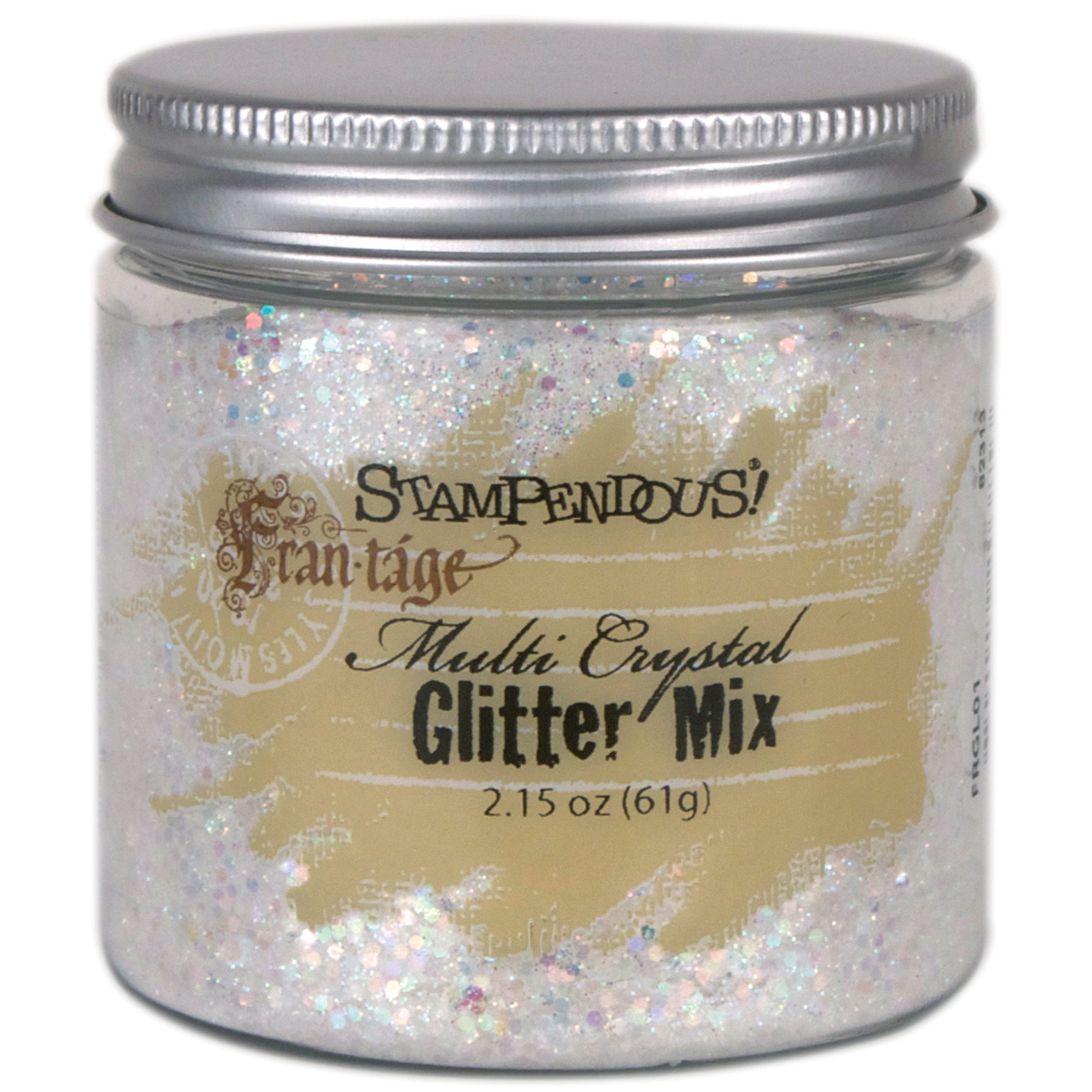 Stampendous Frantage Glitter Mix 2.15oz-Multi Crystal