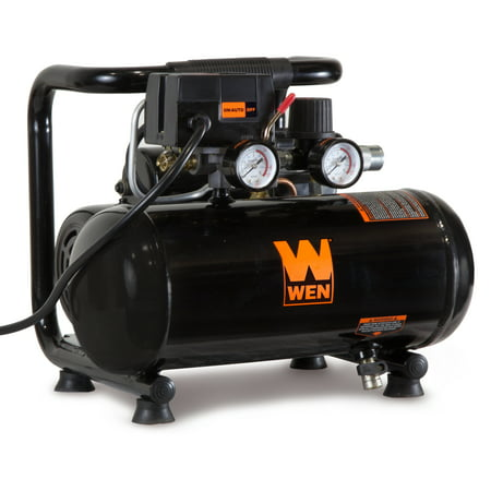 WEN 1-Gallon Oil-Free Horizontal Portable Air Compressor
