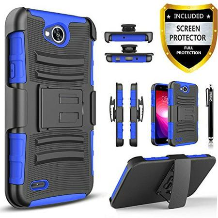 purchase cheap ada9a 212d0 LG Fiesta 2 Phone Case LG X Charge Case LG X Power 2 Case LG Fiesta LTE  CaseCirclemalls [Combo Holster]Built-In Kickstand Bundled With [HD Screen  ...