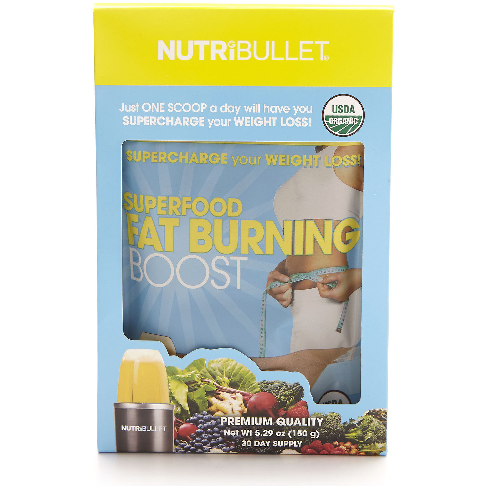 NutriBullet SuperFood Fat Burning Boost Dietary Supplement